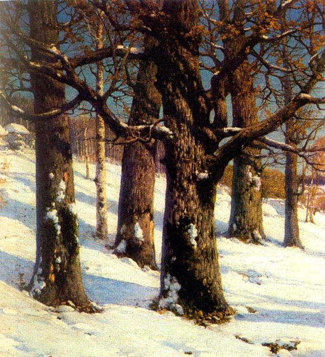 Дубы, 1884, Вологодская областная картинная галерея.jpg