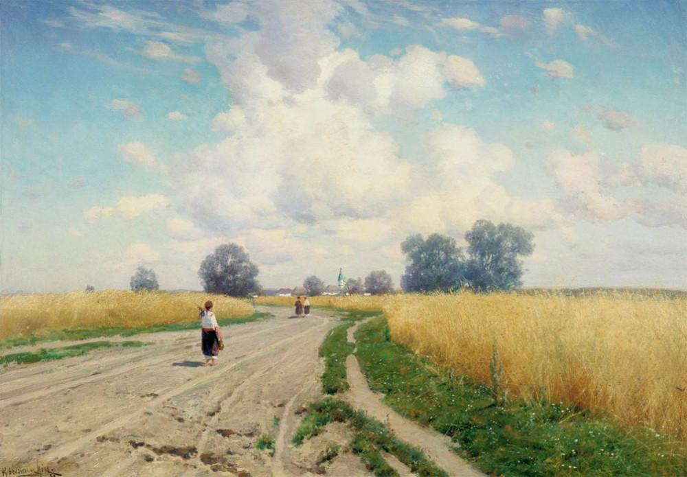 Дорога, 1899,Херсонкий областной художественный музей.jpg