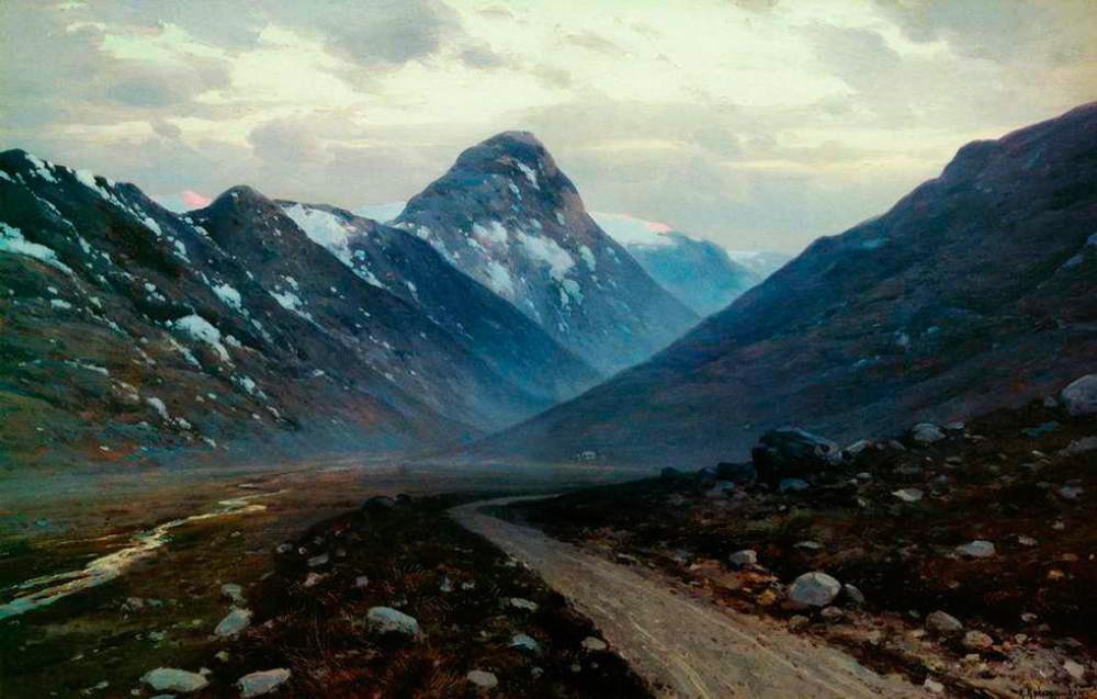 Дорога в горах, 1897, Государственный Русский музей.jpg