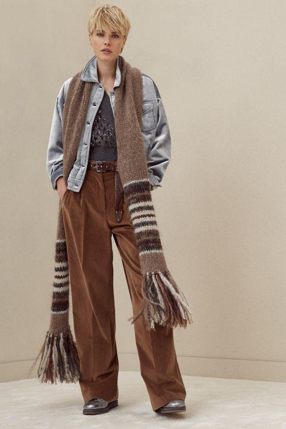 1 Brunello CucinelliОсень-зима 2018/2019 / Ready-To-Wear / НЕДЕЛЯ МОДЫ: Милан