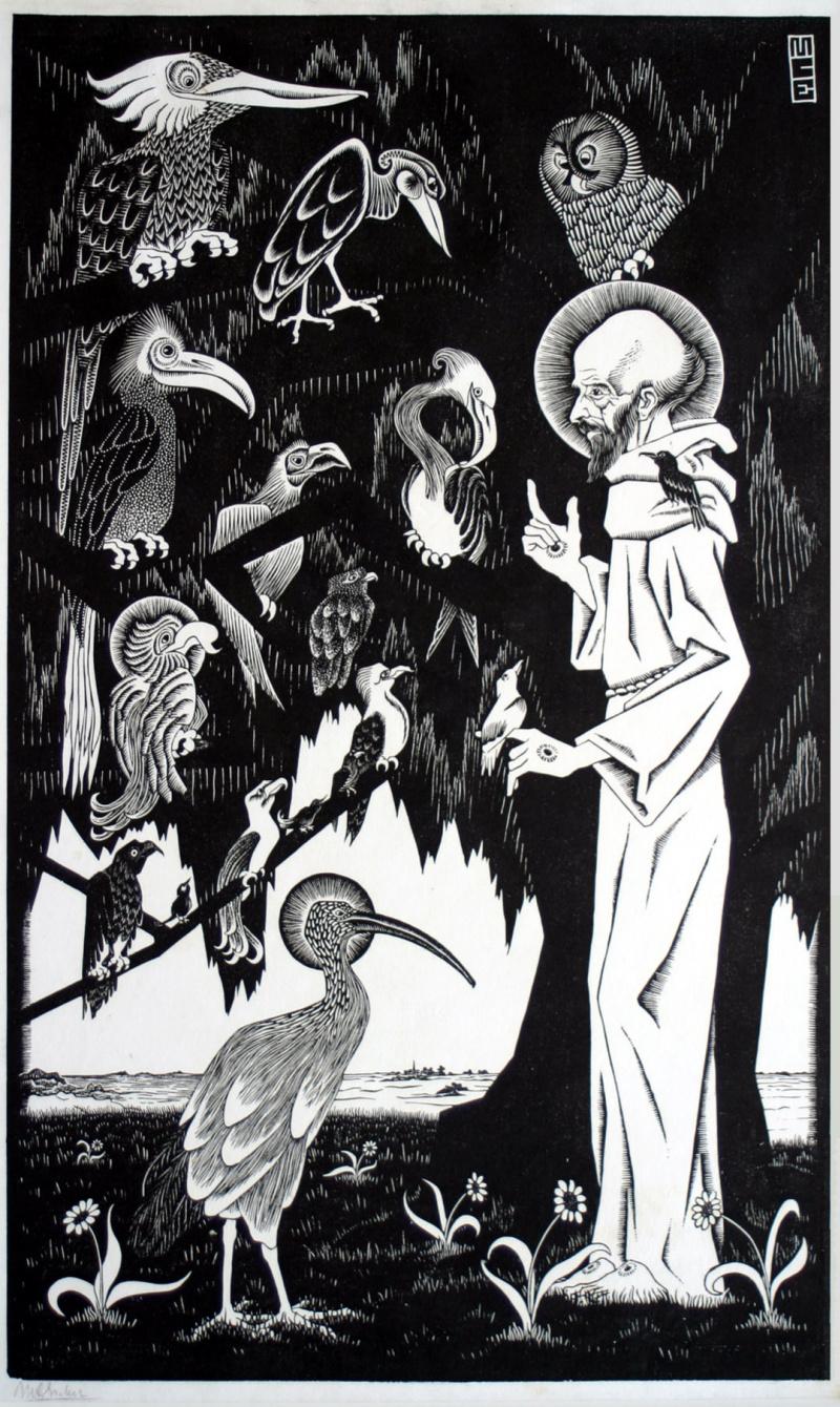 Святой Франциск, первая работа, проданная большим тиражом...