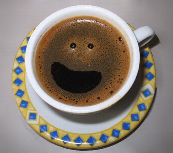 чашечка с улыбкой