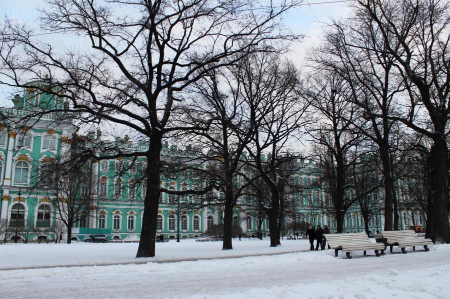 Петербурские улицы в середине  января 2012 я.jpg
