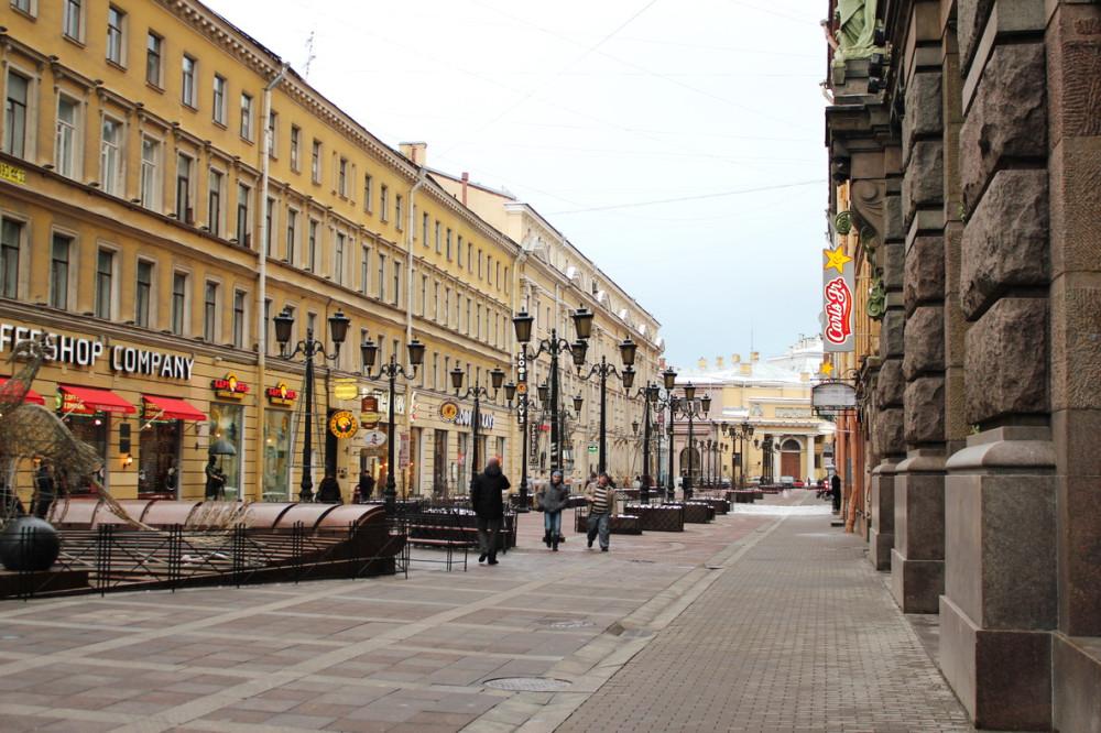 Петербурские улицы в середине  января 2012 К.jpg