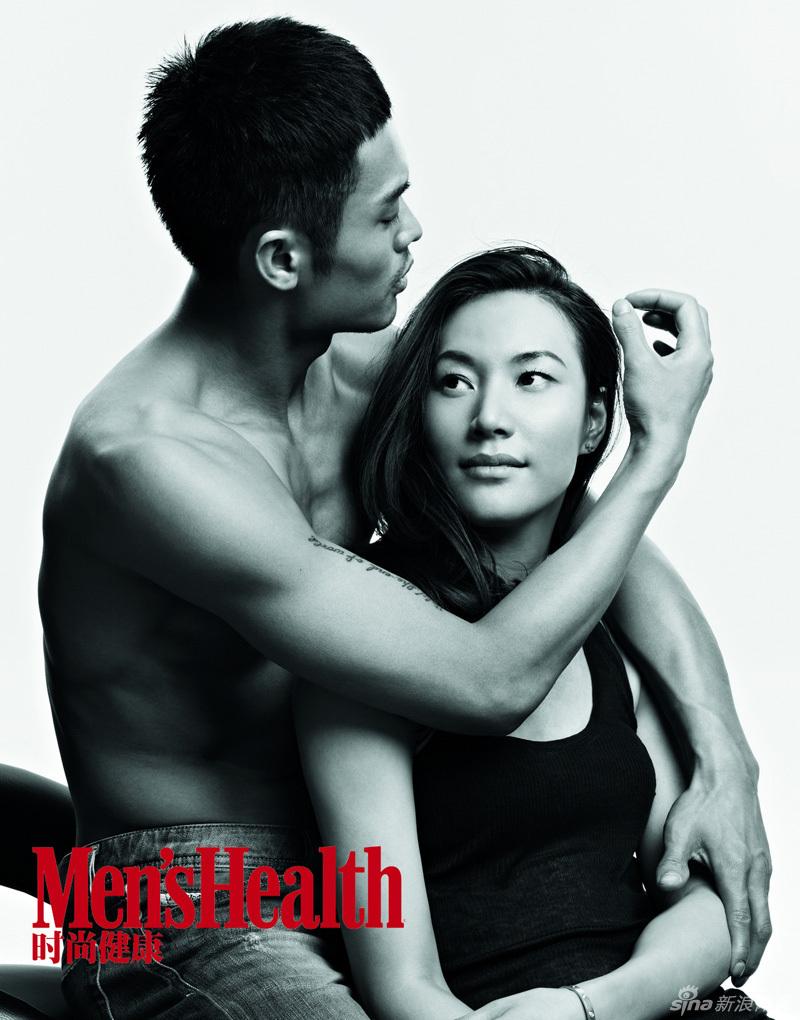 Lin Dan and Xie Xingfang for Men's Health: aiyatheydidnt  Lin Dan and Xie...