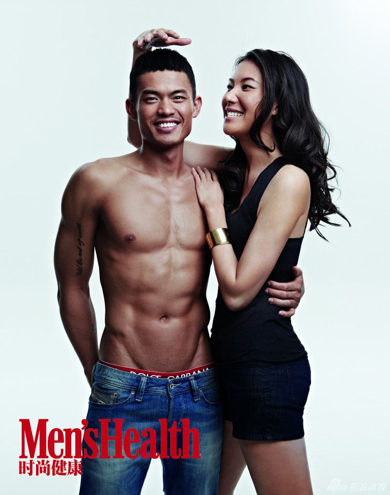 Lin Dan and Xie Xingfang for Men s Health aiyatheydidnt