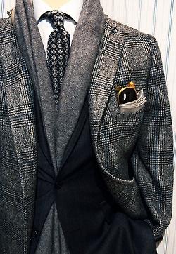 7 платок в пальто