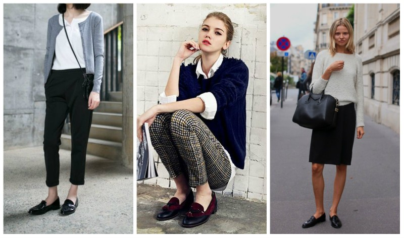 Что носить с ботинками на низком каблуке