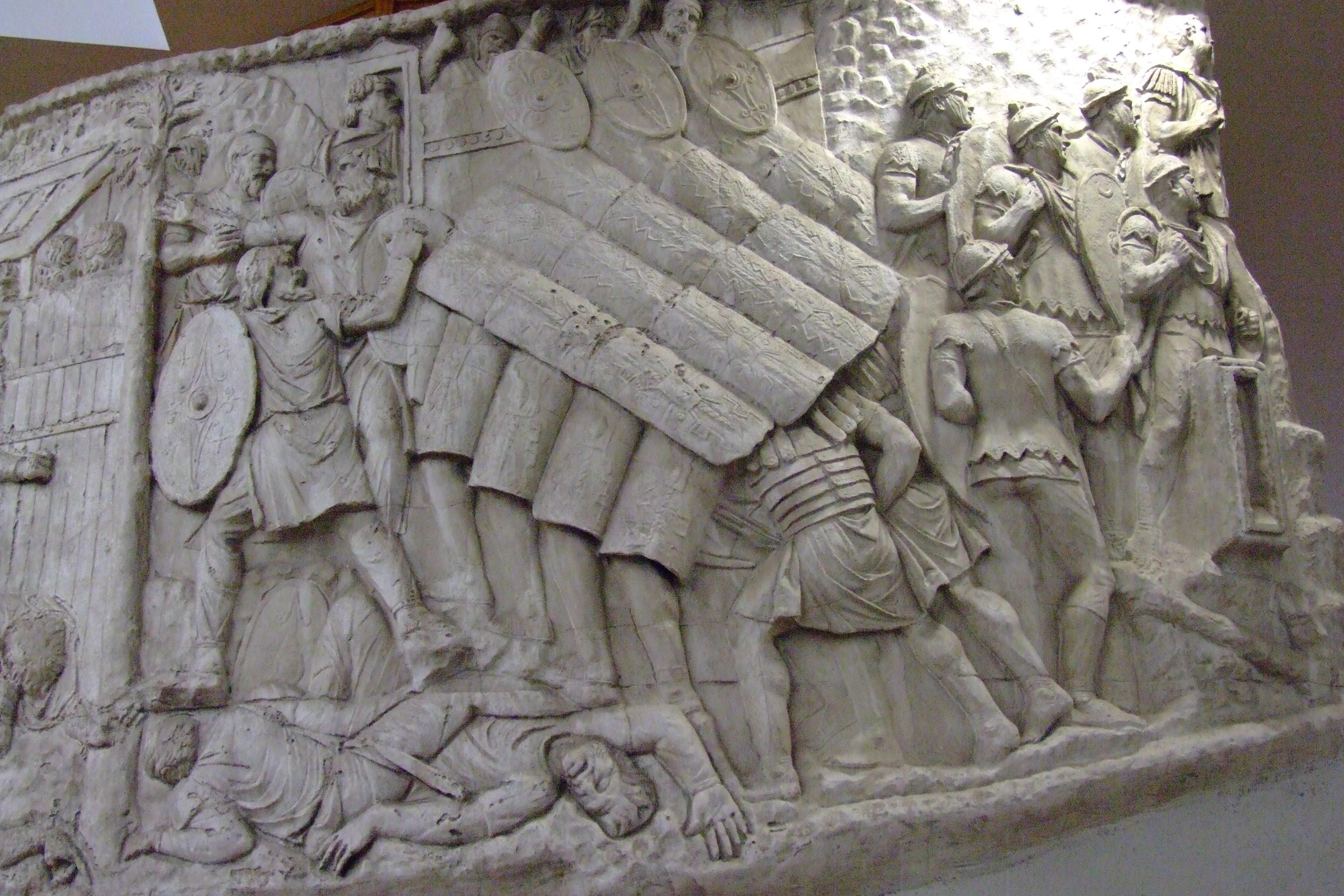 Roman_turtle_formation_on_trajan_column