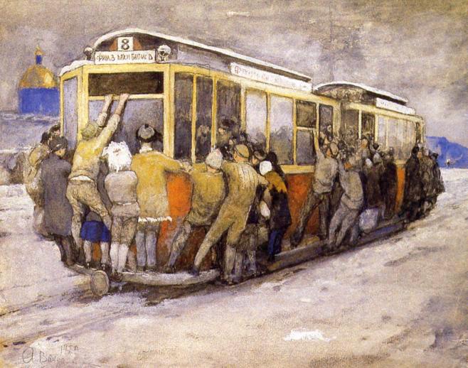 Трамвайные висельники