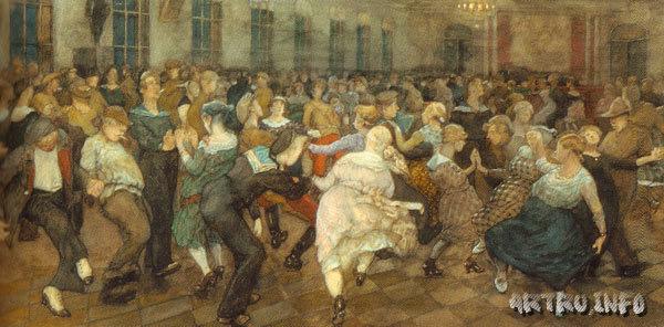 Танцы в Морском училище