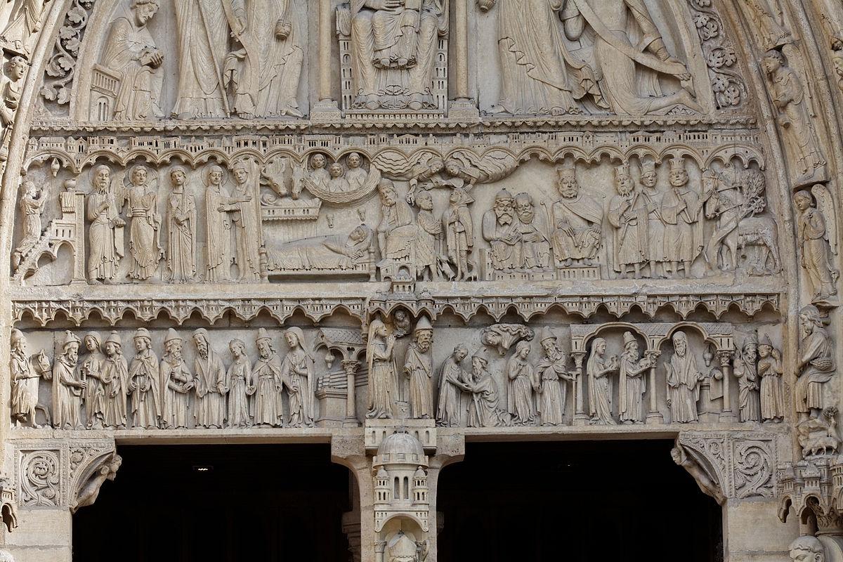 Paris_-_Cathédrale_Notre-Dame_-_Portail_Sainte_Anne_-_PA00086250_-_088