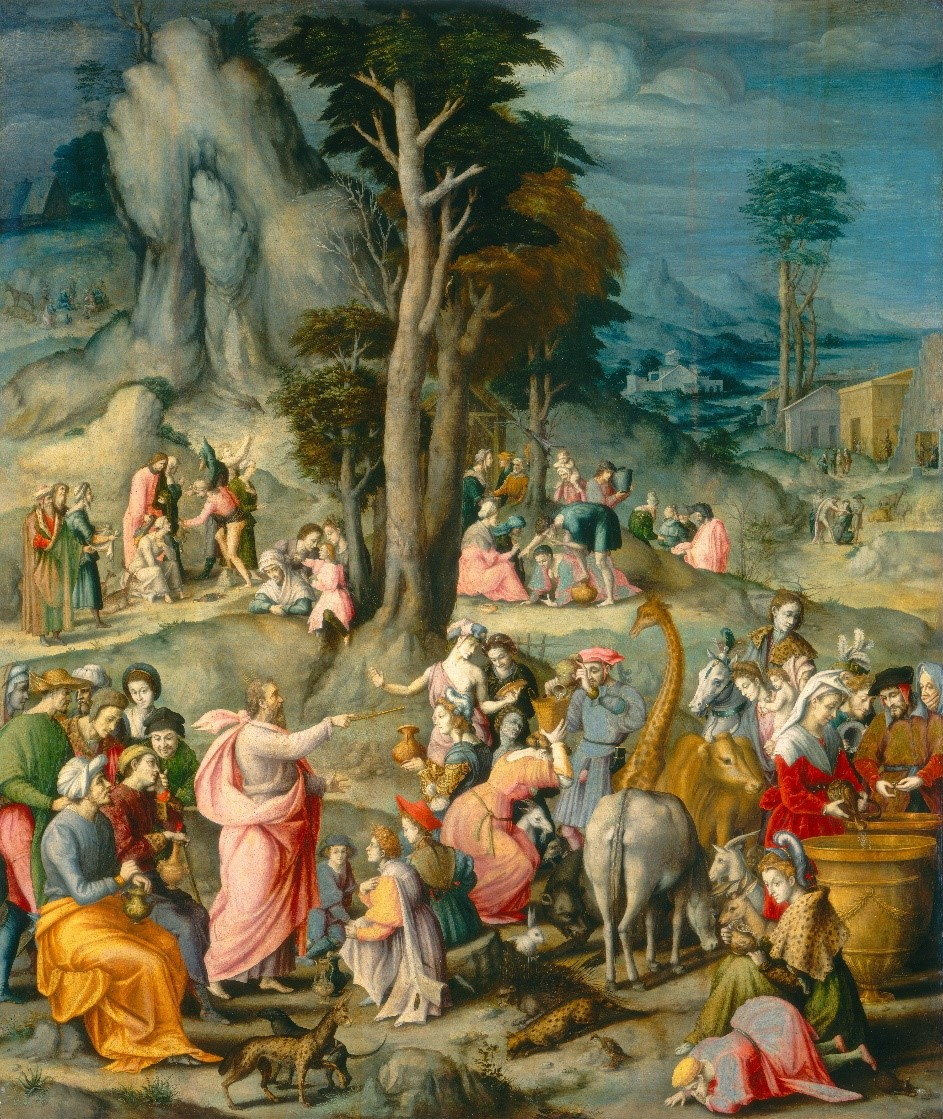 The_Gathering_of_Manna-1540_1555-Bacchiacca