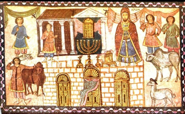 Wall-painting-from-the-synagogue-at-Dura-Europos-in-Syria-Painting-depicts-the-high