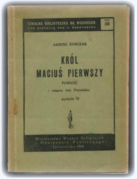 Korczak Król Macius I wstep Ada Poznanska