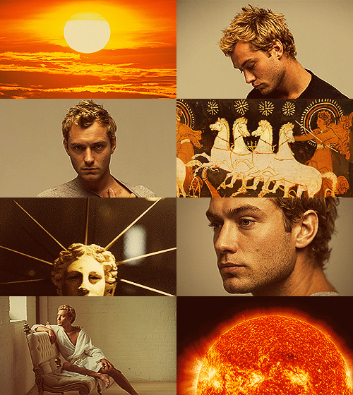 Jude Law as Helios
