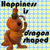 2. Happiness is Dragon Shaped