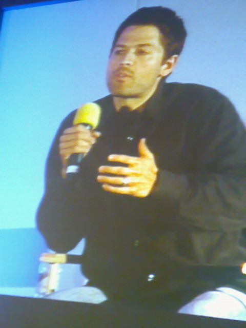 Misha on screen
