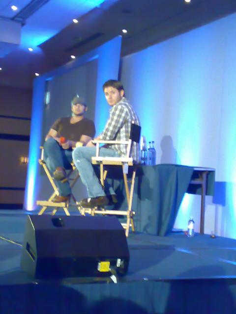 Jensen over the shoulder