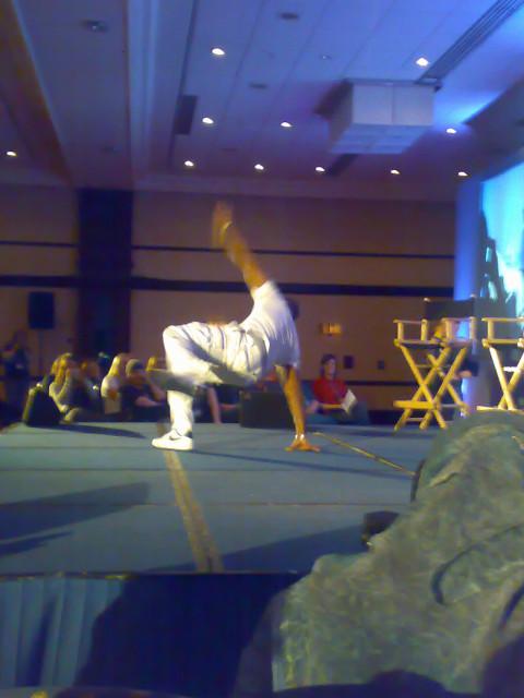 Malik shows he's still got the moves