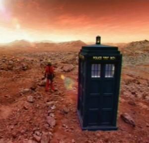 TARDIS, Ten, Mars