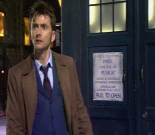 Something has the Time Lord terrified