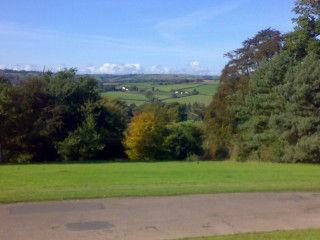 The View from Knightshayes Court
