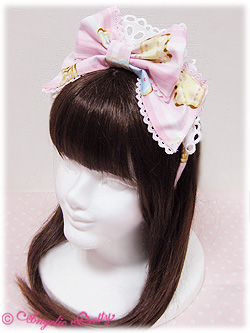 AP Wonder Cookie Headbow Pink