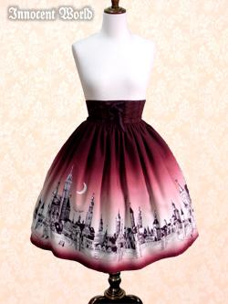 IW Rottenburg Skirt Bordeaux Stock