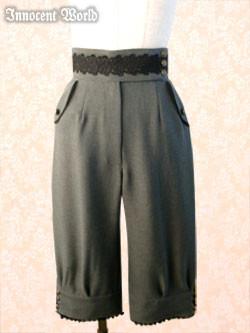 IW Flap Pocket Half-Pants - Brown Stock