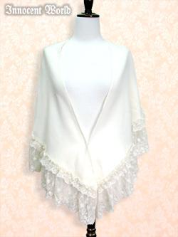 IW Lace Wool Shawl Stock