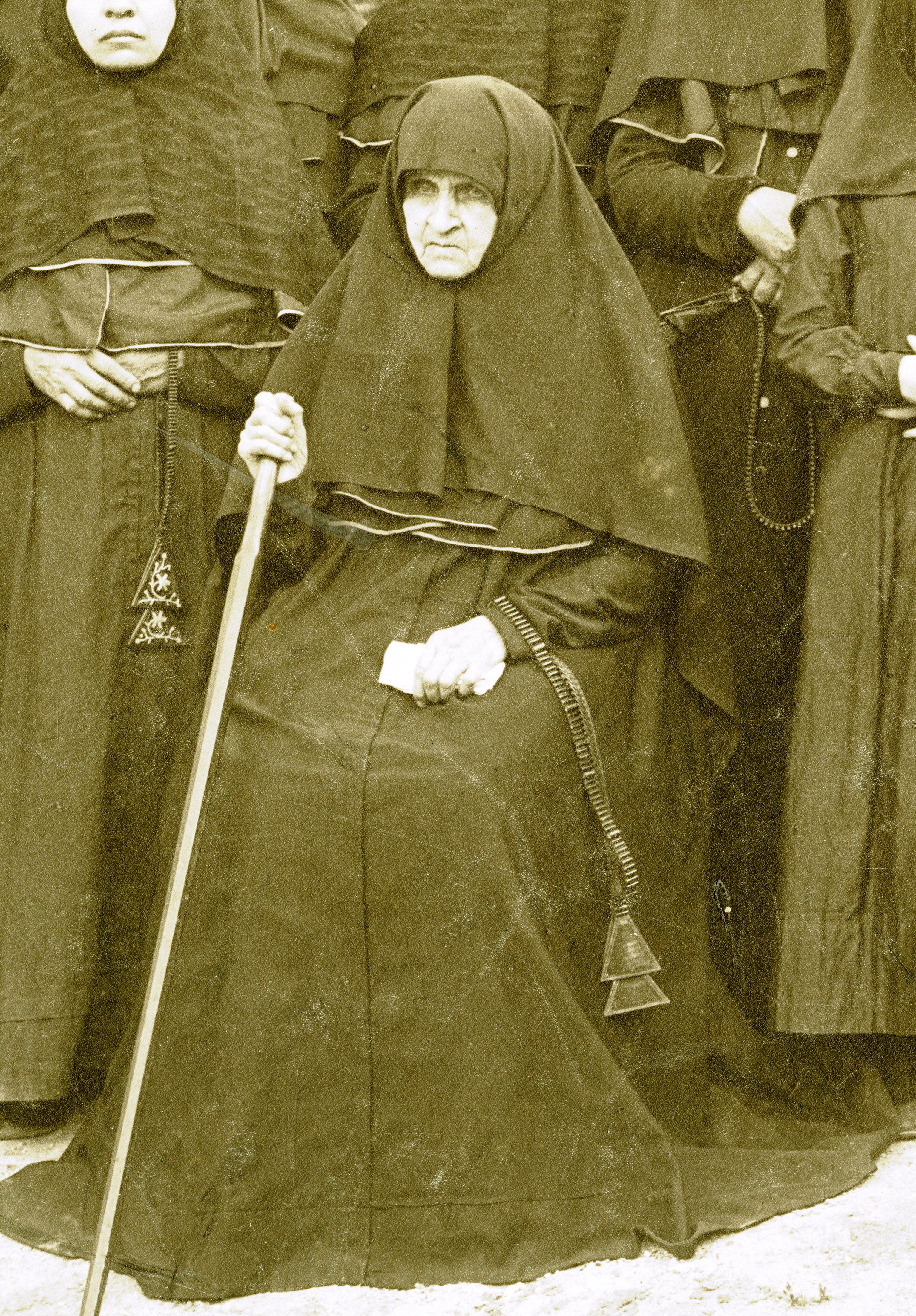 Инокиня Фелицата, строительница Введенского монастыря. Фото нач. ХХ в.