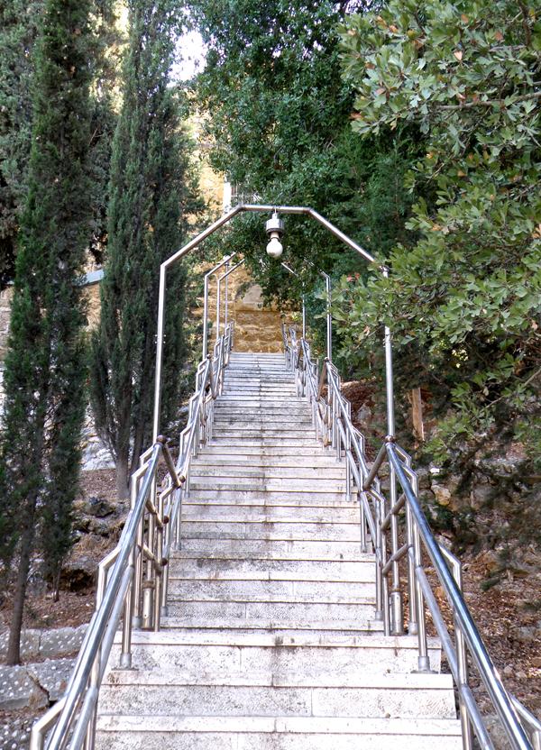 Горний лестница