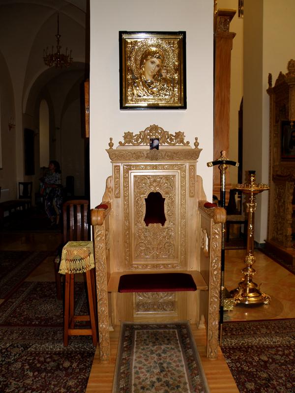 Горний ц.Всех святых трон