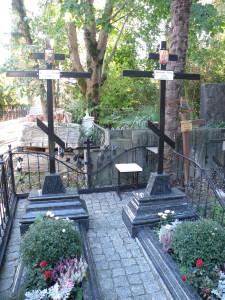 9-3 Могилы на Михайловском кладбище