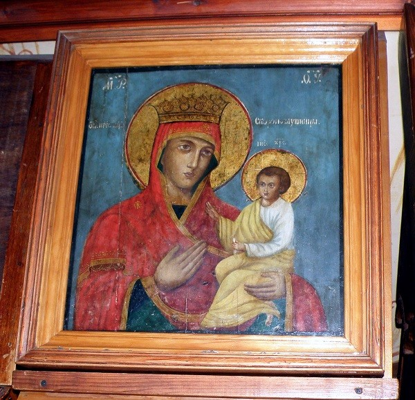 Икона Своропослушница из Воскресенского собора г. Тутаева мал