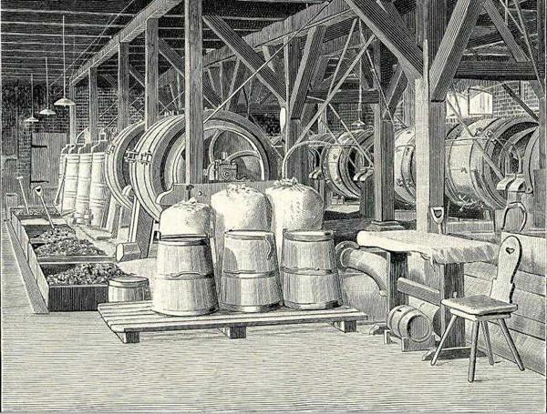 Промывка янтаря