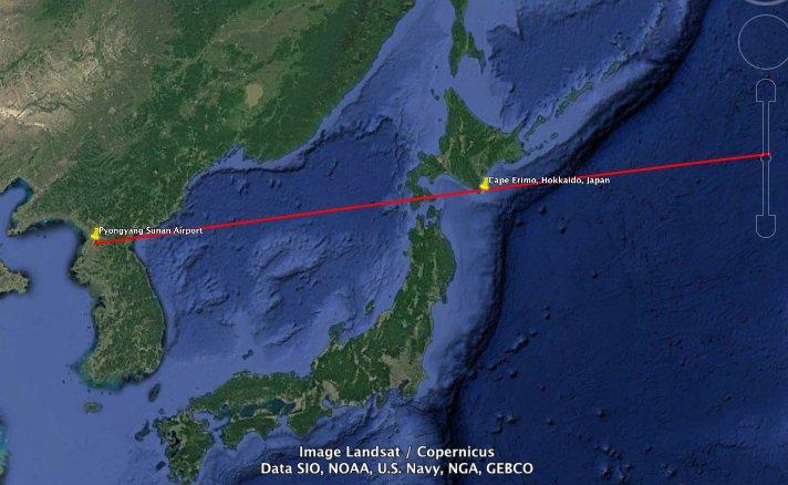 запуск Hwasong-12