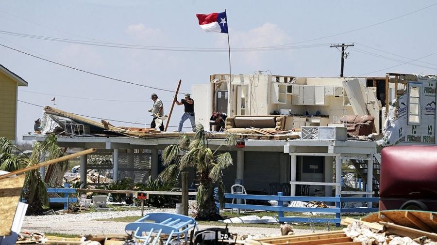 последствия урагана Харви в Техасе 3