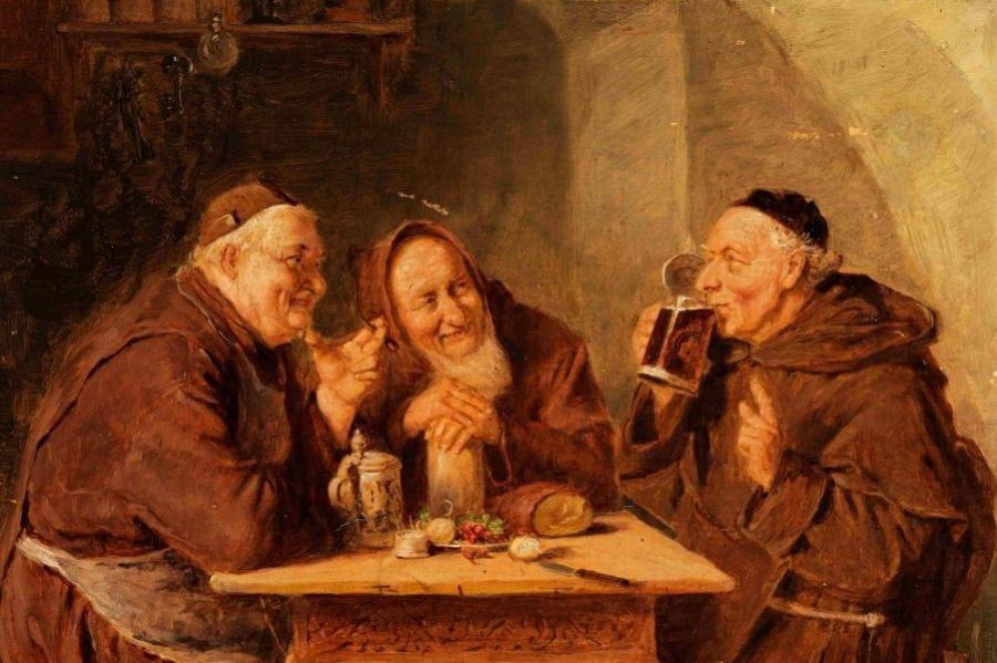 Эдуард Теодор Риттер фон Грюцнер_монахи 1