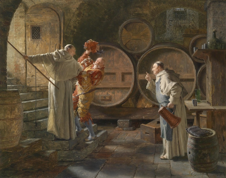 Эдуард Теодор Риттер фон Грюцнер_монахи 2