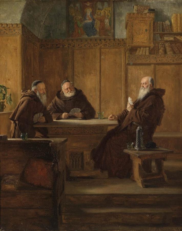 Эдуард Теодор Риттер фон Грюцнер_монахи 3