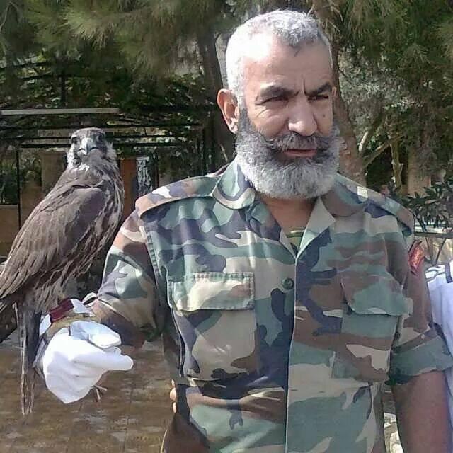 Сирийский генерал Иссам Захреддин_Железный Дед