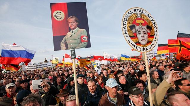 демонстрация в ФРГ