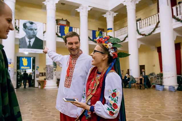 Собчак пришла на Майдан