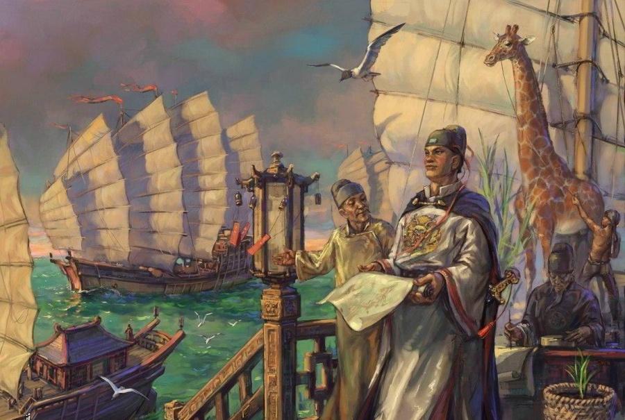 15 июля 1419 года, флот Чжэн Хэ