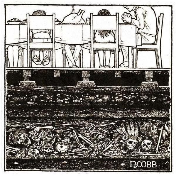 США на костях