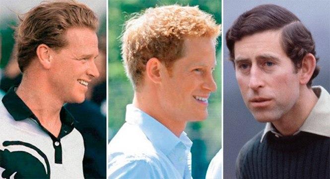 папы принца Гарри