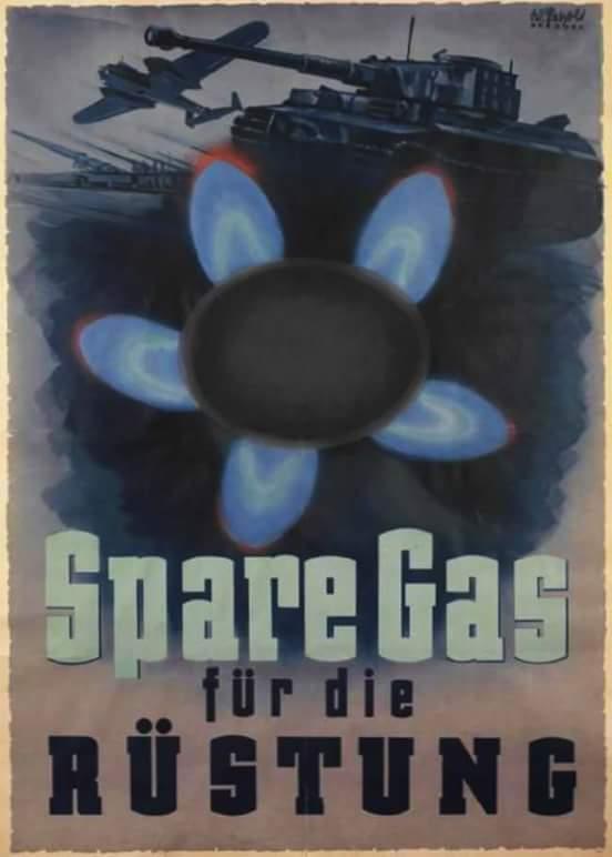 экономь газ, чтобы делать побольше оружия