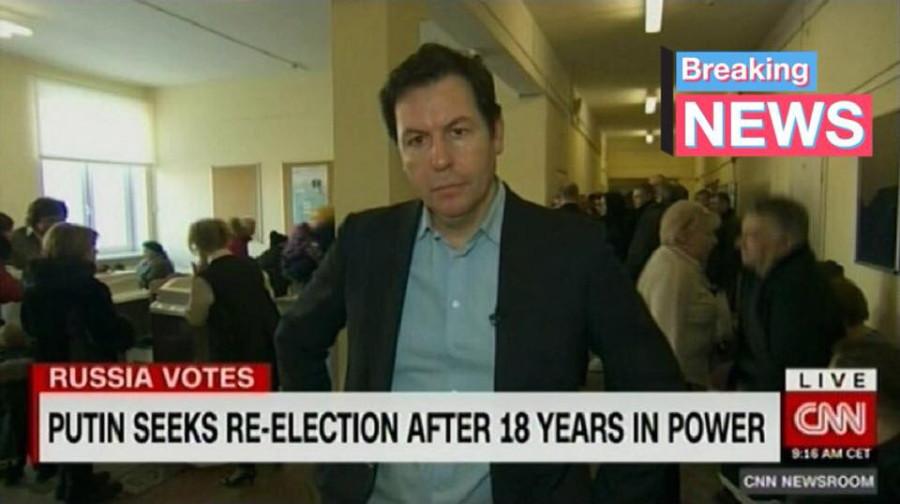 журналист CNN на выборах 2018